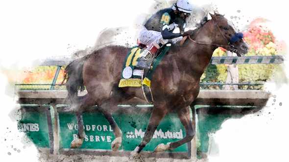 Authentic, winner of the 2020 Kentucky Derby